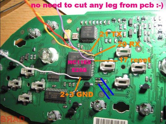 Clone Carprog Read Mcu Hc11e9  Wiring Diagram