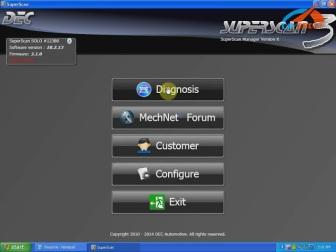 PSA COM diagnostic tool interface   digimasterblog